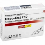 TEST COMP 250 5 ml 250 Mg UNIGEN LIFE