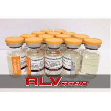10 x  TESTOSTERONE ENANTHATE 2500 MG OXYDINE METABOLICS
