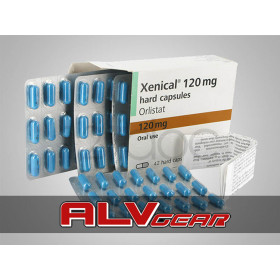 Xenical (Orlistat) 42 Caps 120 Mg