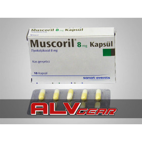 Muscoril (Thiocolchicoside) 10 Caps 8 Mg