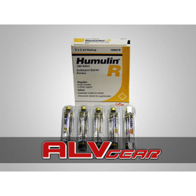 Humulin-R 5 x 3 Ml Insuline Ampul