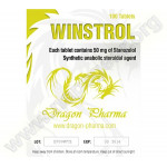 Winstrol Tabs 100 Tablets Dragon Pharma
